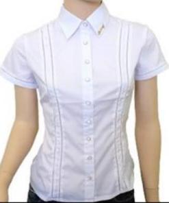 Блузка женская 13123 белый цвет
