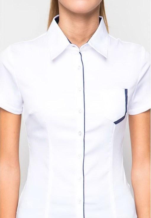 Блузка женская 132153k1 белый цвет