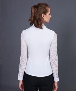 Блузка женская 1335L белый цвет