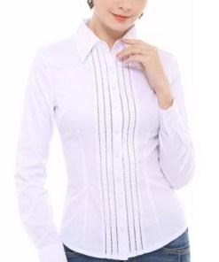 Блузка женская 1397 белый цвет