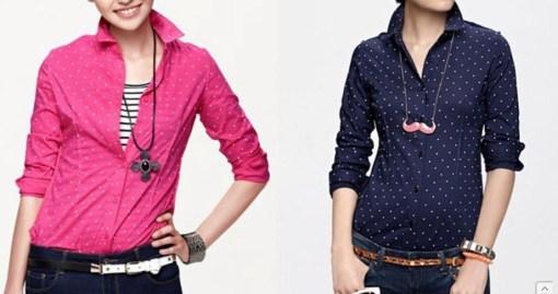 Блузка женская 171708 розовый, синий