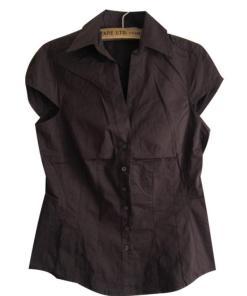 Блузка женская 171713 коричневый цвет