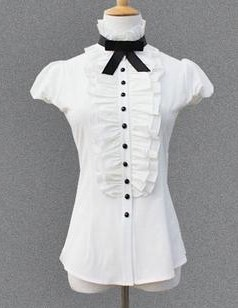 Блузка женская 171716 молочный цвет