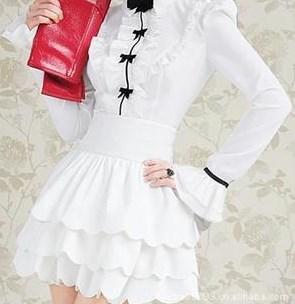 Блузка женская 171722 молочный цвет