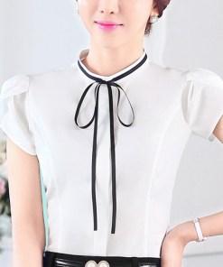 Блузка женская 171742 молочный цвет