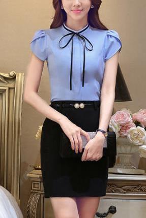 Блузка женская 171742 короткий рукав