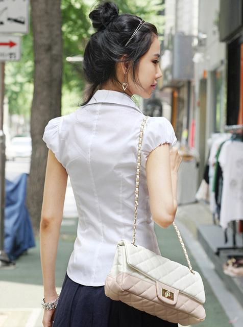 Блузка женская 171746 белый цвет