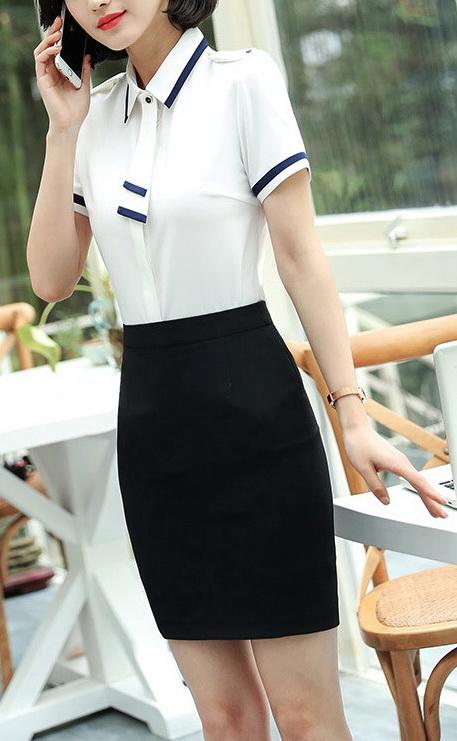 Блузка женская 171759 белый цвет