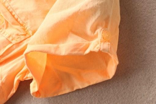 Блузка женская 171772 оранжевый цвет