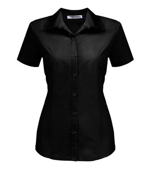 Блузка женская 171782 черный цвет