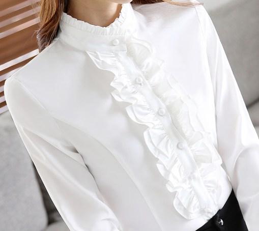 Блузка женская 171784 белый цвет
