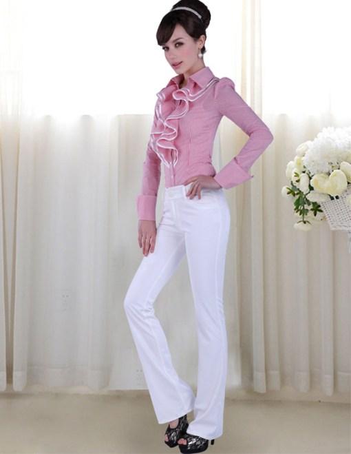 Блузка женская 171786 красный цвет