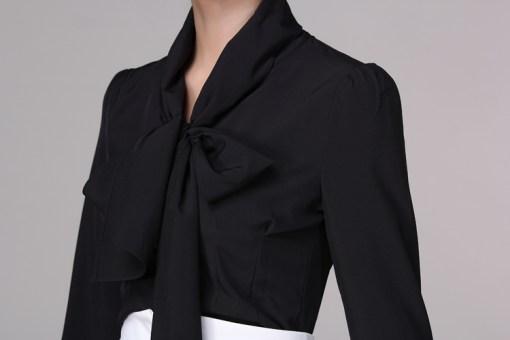 Блузка женская 171787 черный цвет