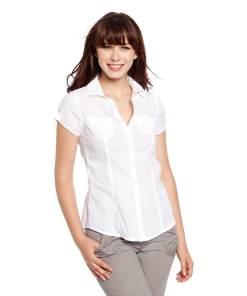 Блузка женская 80021 белый цвет