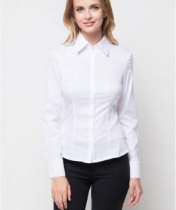 Блузка женская 8195L белый цвет