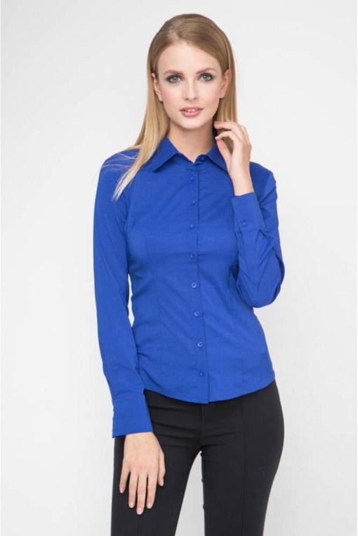 Блузка женская 8195 электрик цвет