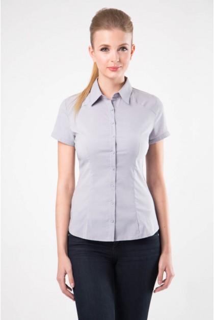Блузка женская 8195-1 серый цвет
