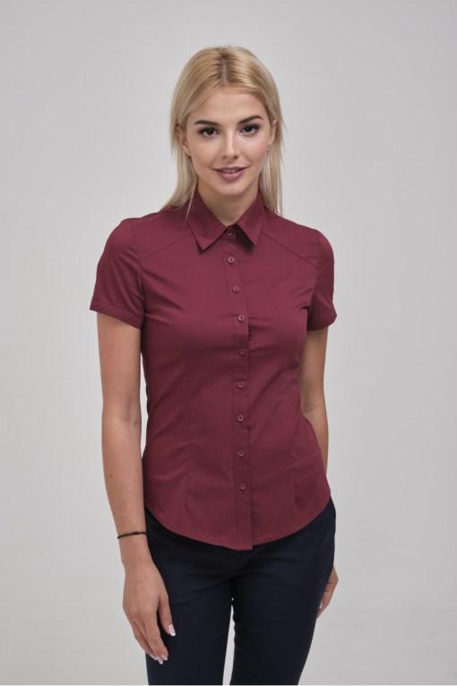 Блузка женская 8195-1 бордовый цвет