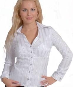 Блузка женская Милан белый цвет
