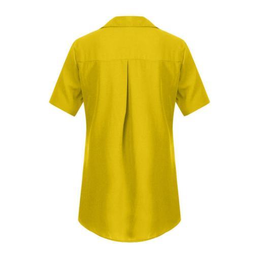 Блузка женская 1717100 желтый цвет