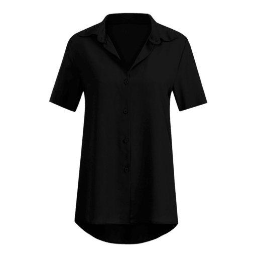 Блузка женская 1717100 черный цвет