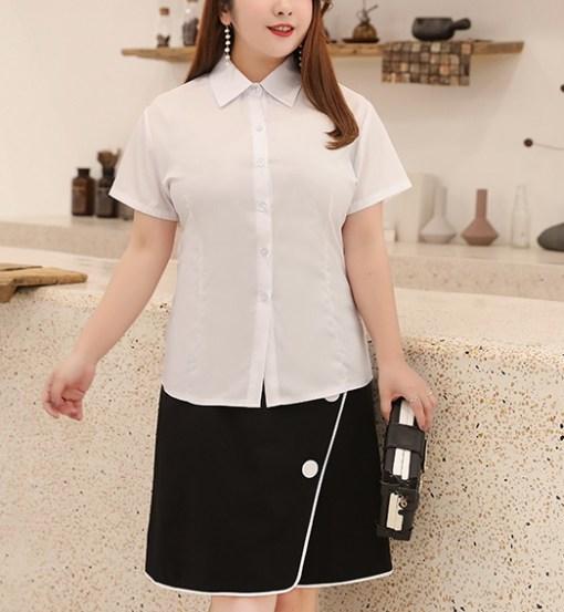 Блузка женская 171793 белый цвет