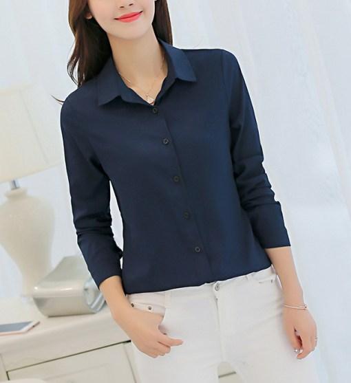 Блузка женская 1717101 черный цвет