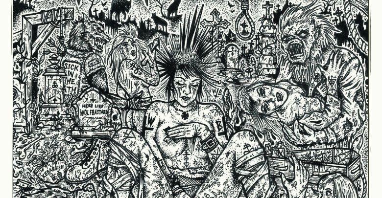 The image of Wolfbastard's album