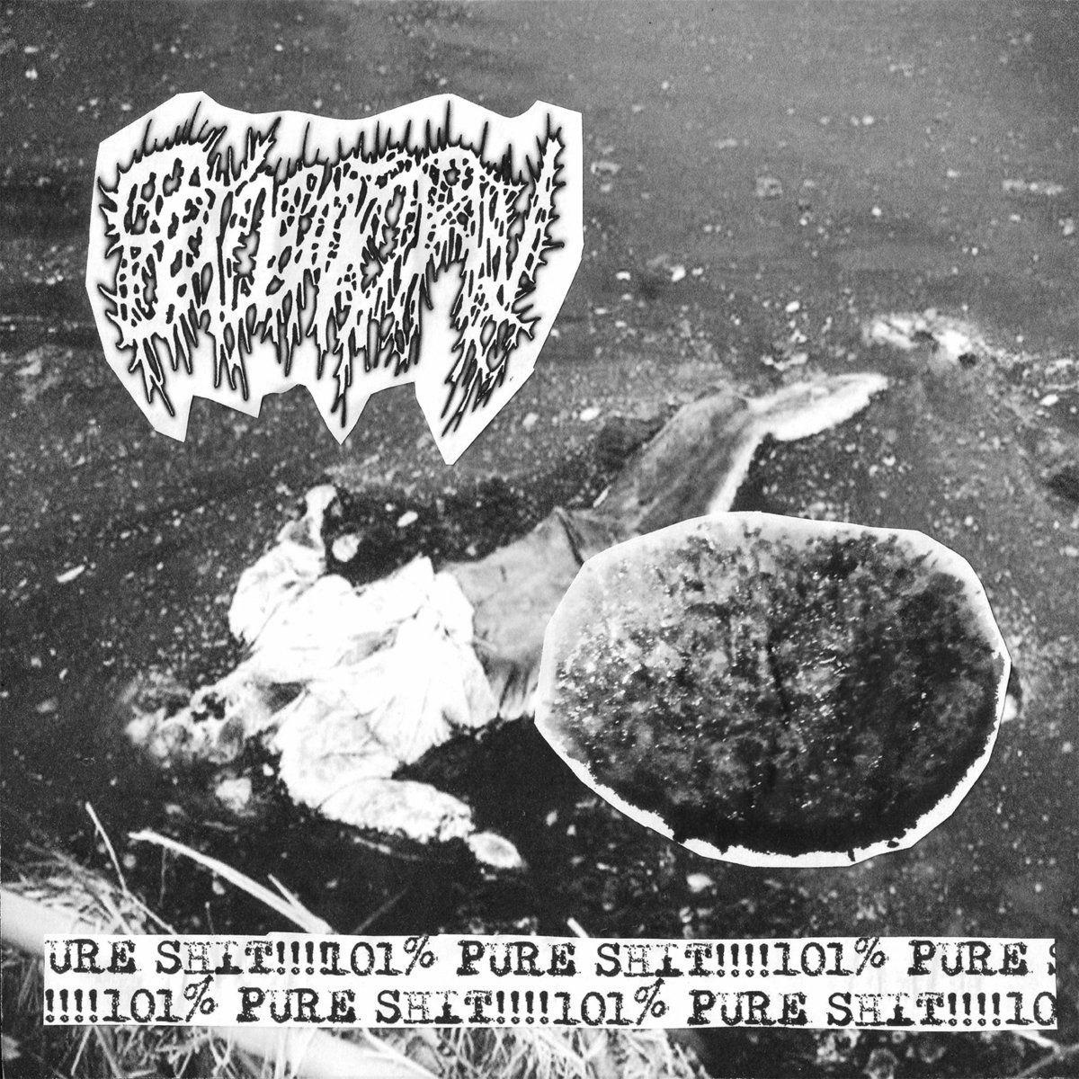CDr split cover for those gorenoise artists
