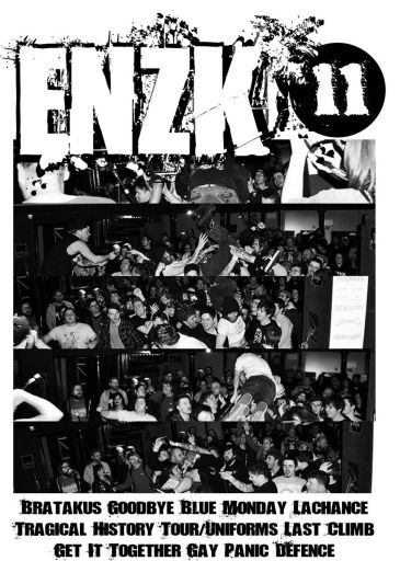 Scottish HC/punk/crust zine ENZK