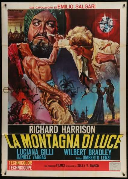 Temple of the Thousand Lights movie poster with Richard Harrison
