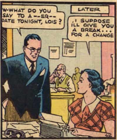 "Way to wear her down, ""Clark!"""