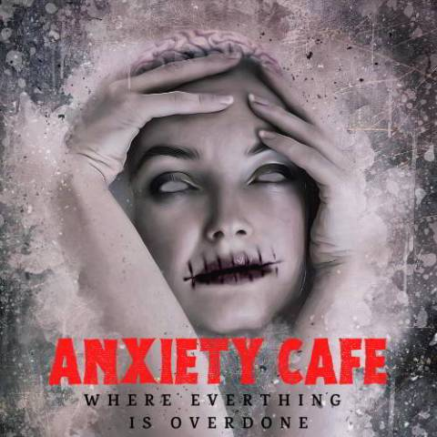 anxiety cafe art