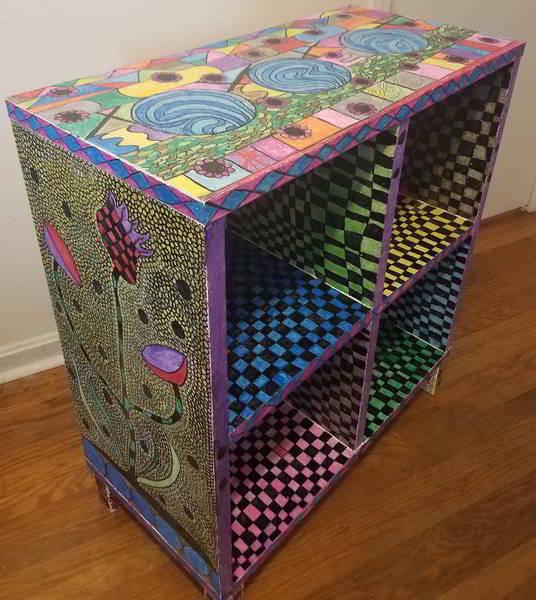 make art shelf