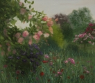 <h5>Giverny</h5><p>70x80cm / Lina audekls / Eļļa / 2015 / Privātkolekcijā</p>