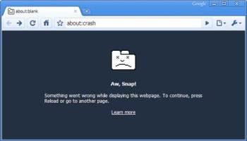 Chrome Crash