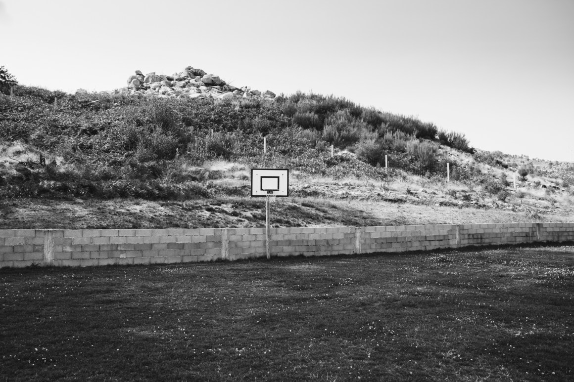 Basketball court slash soccercourt.
