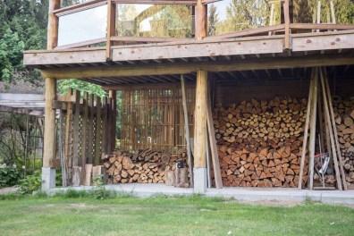 Firewood organized by species