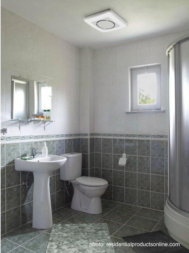 ShhhBathroom Ventilation Fans Rubenstein Supply Company - Wall mount bathroom vent fan for bathroom decor ideas