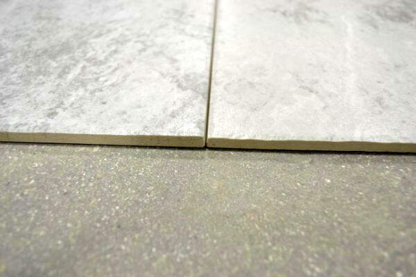 groutless tile installation can you