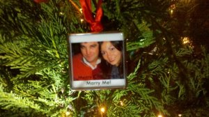 """How he proposed. Oddly enough, this past Christmas was our first """"normal"""" Christmas."""