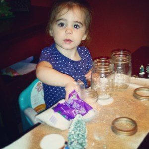 My little crafter!