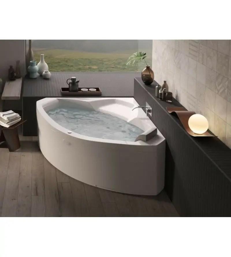 https www rubinetteriashop com fr baignoires angulaire 592 baignoire d angle avec hydromassage jacuzzi uma html