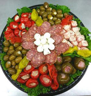 Olive & Peppers Platter
