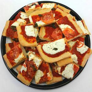 Sicilian margherita pizza 1