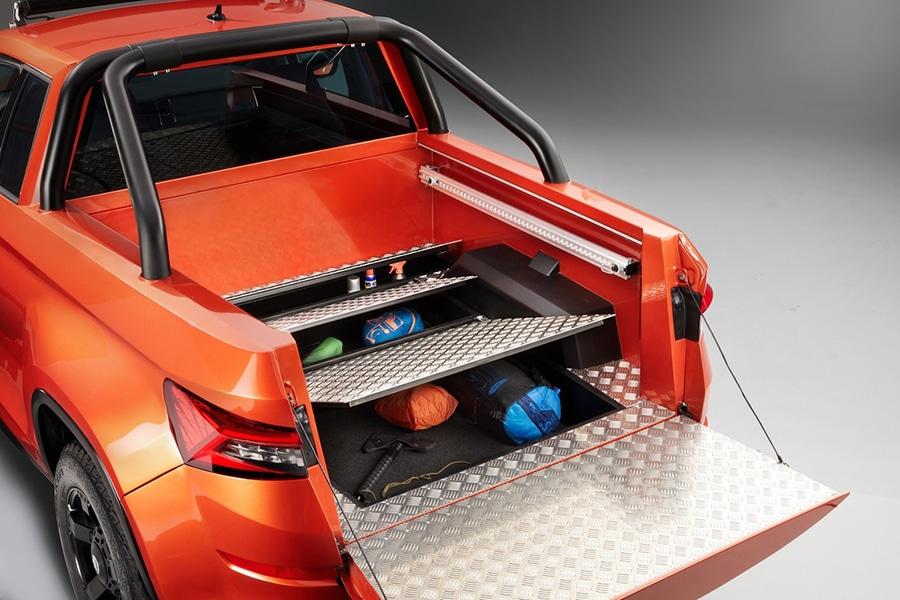 skoda mountiaq secret compartment