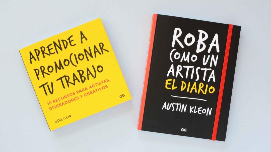 Este verano refresca tu inspiración con los libros de Austin Kleon (Sorteo cerrado)