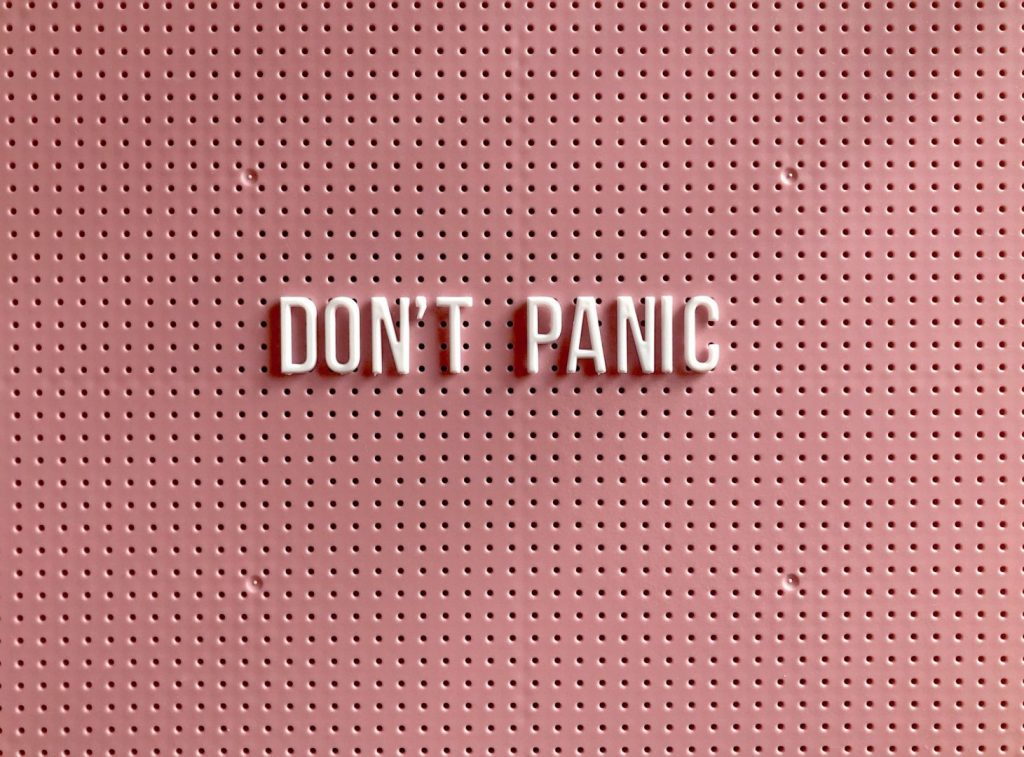 Don'T Panic In A Relationship