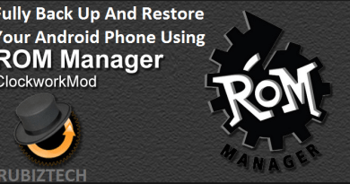 Completely BackUp And Restore Your Android Phone Using Nandroid Backup