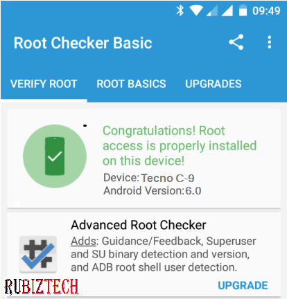 Root Tecno Camon C9
